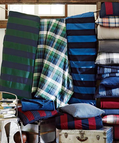 Rugby Stripe Quilt