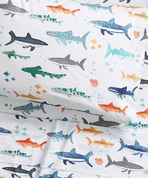 Shark Sheets   Boys Sheet Sets
