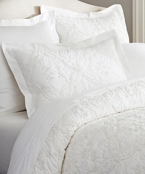 White Quilt Bedding