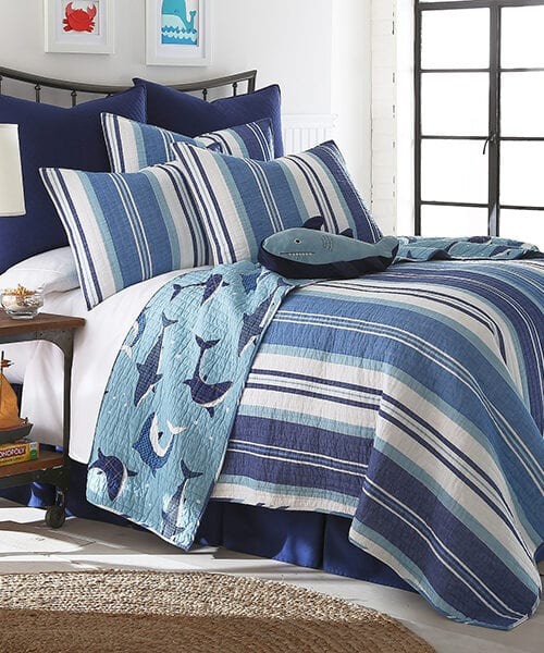 Sammy Shark Quilt Bedding