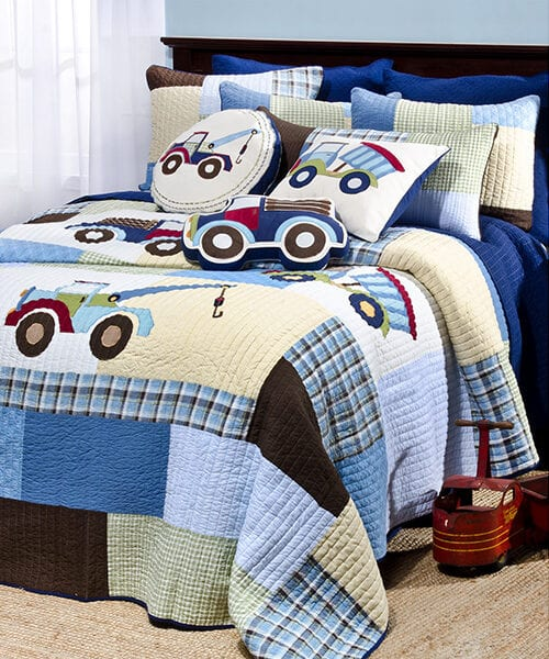 Truck Bedding for Boys