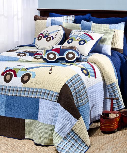 Truck Bedding for Boys