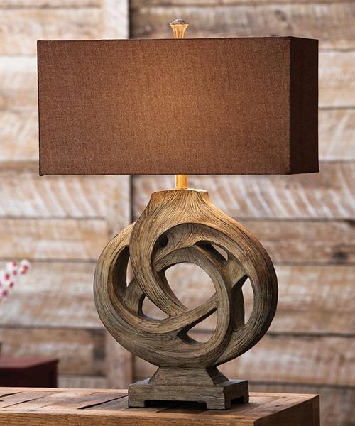 Rustic Lamps Infinity Branch