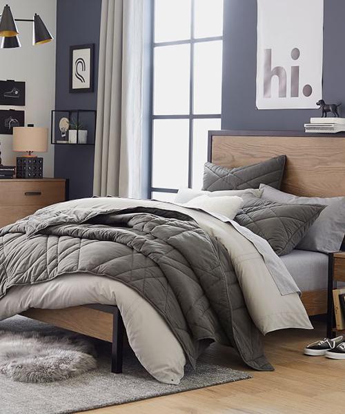 Ryder Boys Solid Color Bedding