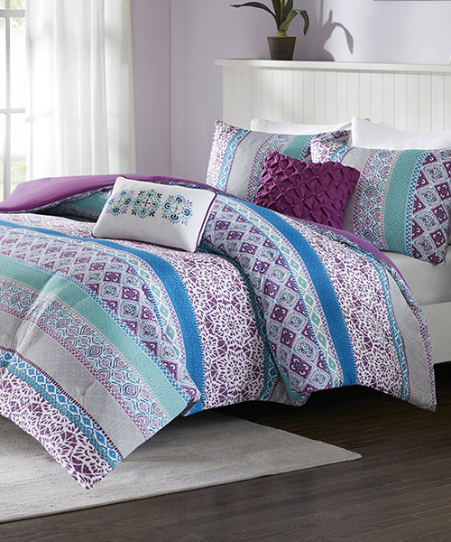 Adley Colorful Comforter Set