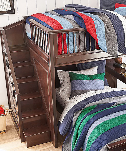 Block Stripe Bedding