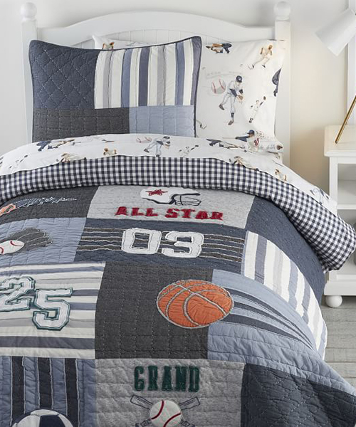 Boys Sports Bedding