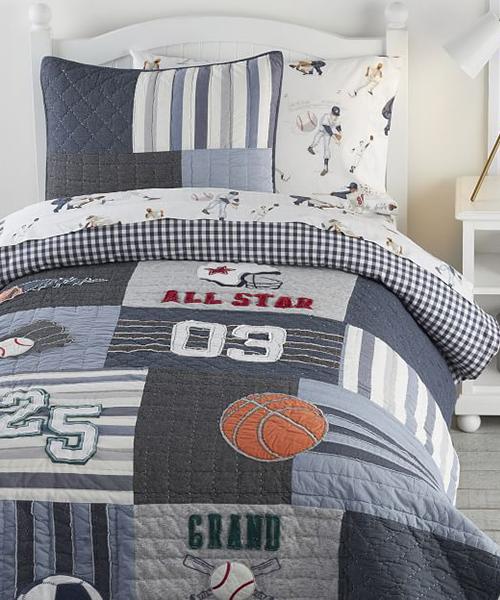 Boys Sports Bedding