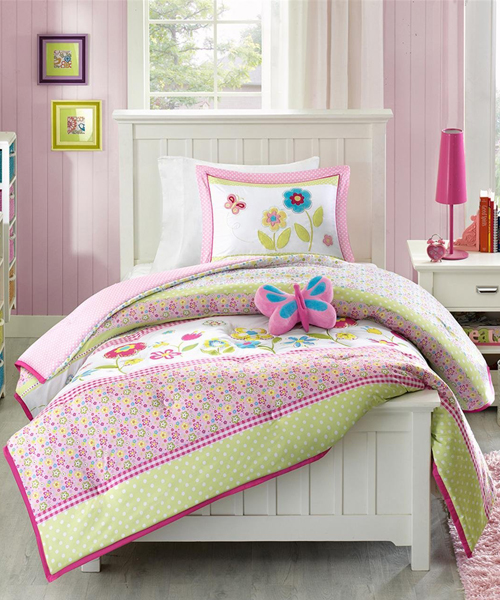 Butterfly Girls Bedding