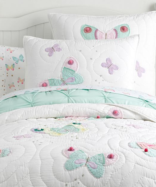 Butterfly Quilt Bedding