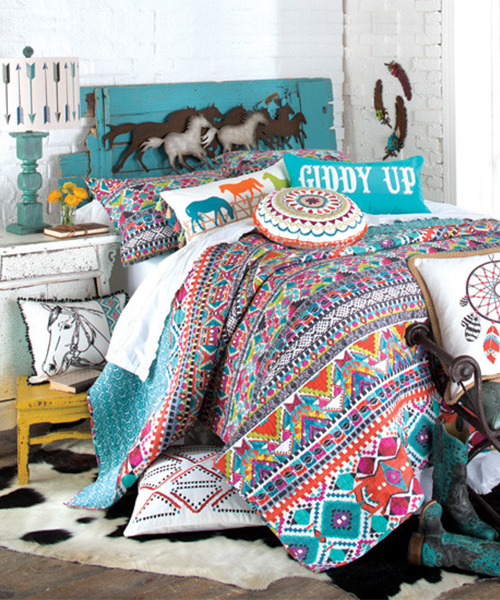 Cowgirl Quilt Bedding