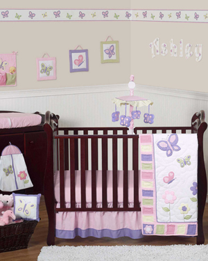 Butterfly Crib Collection