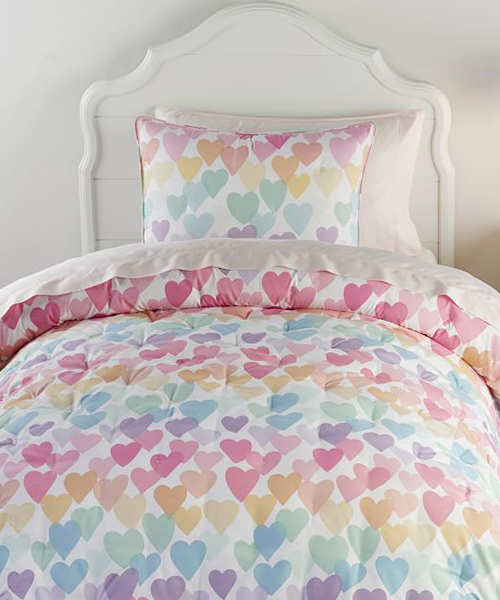 Evie Heart Bedding