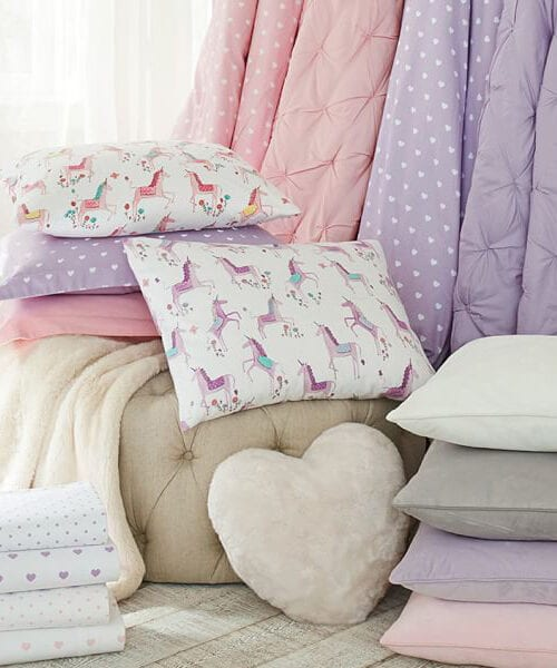 Audrey Girls Purple Bedding