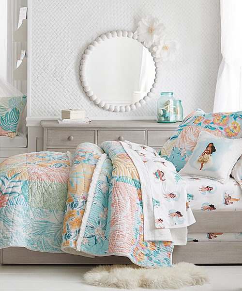 Island Vibe Little Girls Quilt