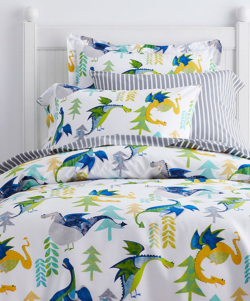 Kids Dragons Bedding