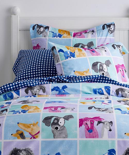 Kids Puppy Bedding