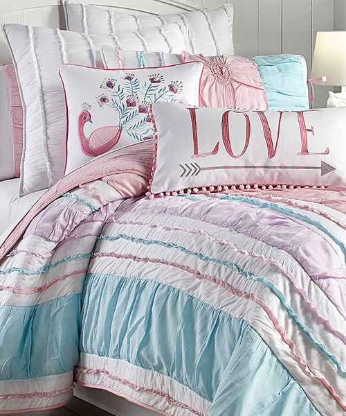 Levtex Bobbi Girls Pink Quilt