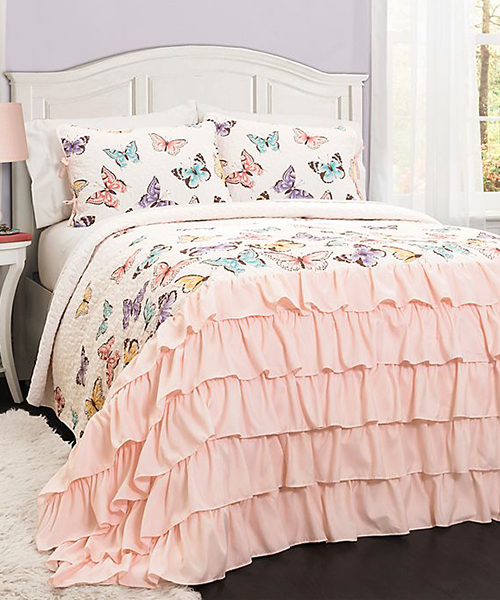Lush Decor Butterfly Bedding