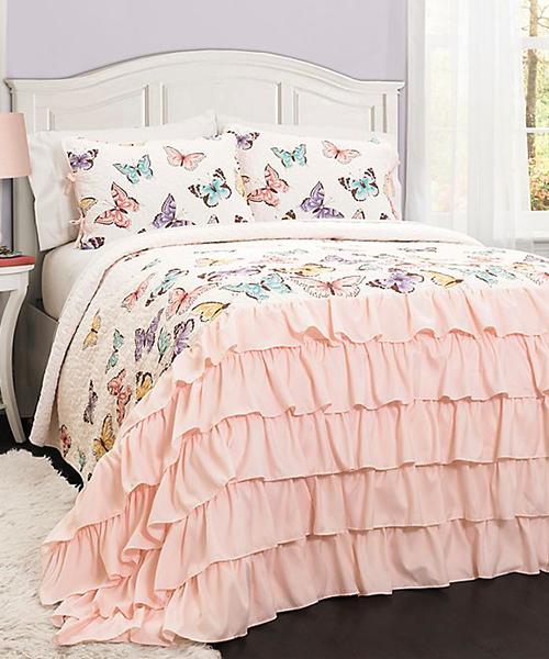 Lush Decor Butterfly Bedding