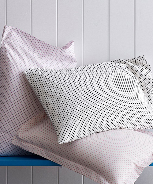 Swiss Dot Cotton Bedding