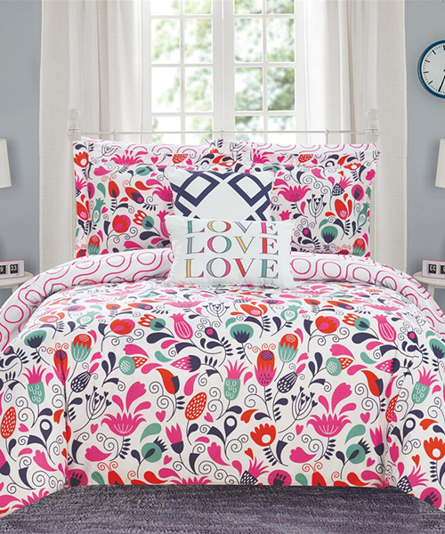 Teen Floral Bedding