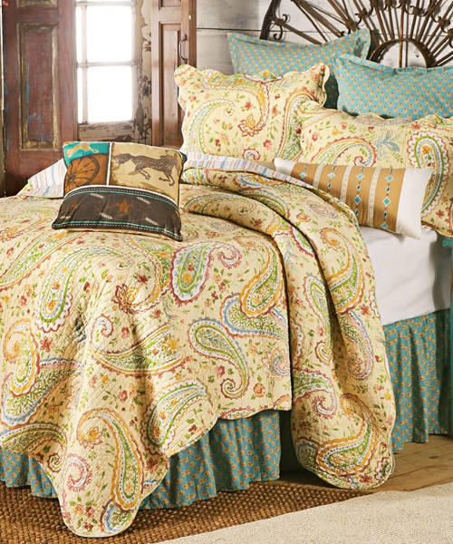 Wildflower Paisley Bedding