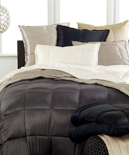 DKNY Silk Bedding | Donna Karan Silk Quilt