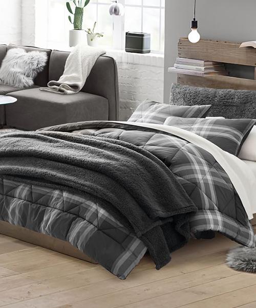 Xander Boys Plaid Comforter