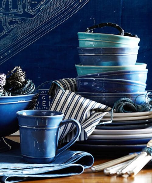 Cambria Blue Stone Dinnerware