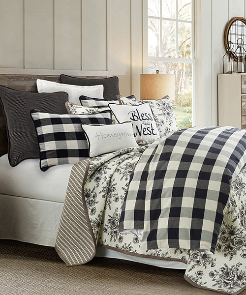 Buffalo Check Farmhouse Bedding