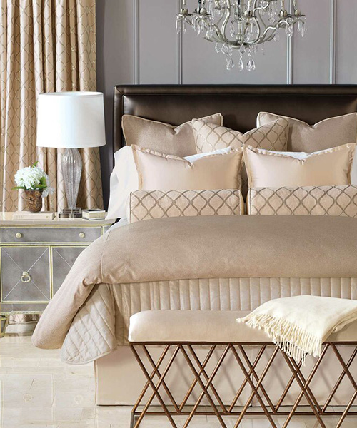 Eastern Accents Bardot | Ivory Luxury Bedding Set