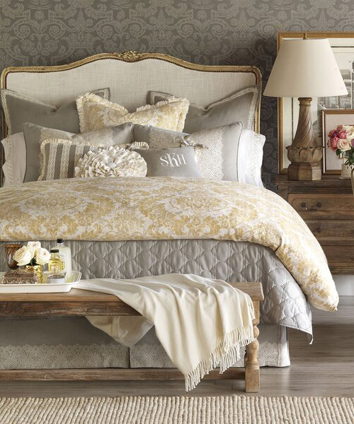Luxury Duvet Cover | Eastern Accents Sabelle Bedding