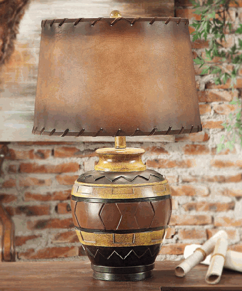 Western Table Lamp