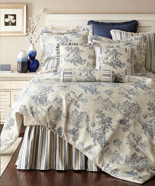 Toile Bedding Collection