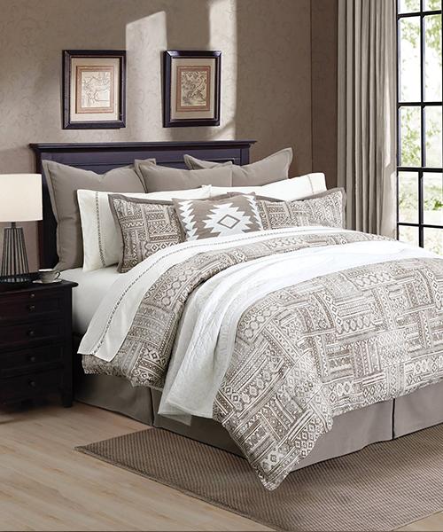 Trent Rustic Comforter Set   Southwestern Bedding