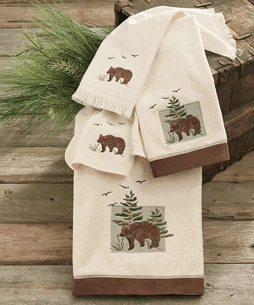 Denali Bear Bath Towel