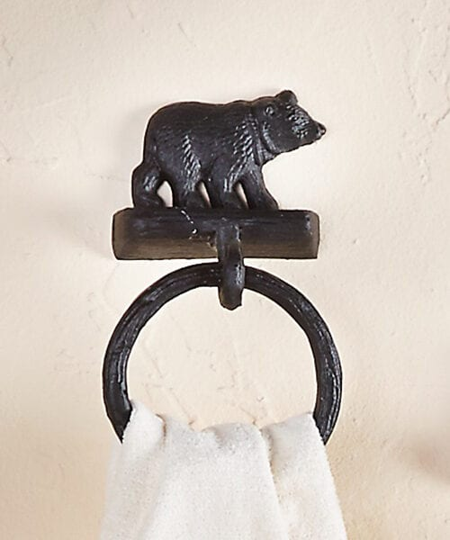 Bear Towel Ring
