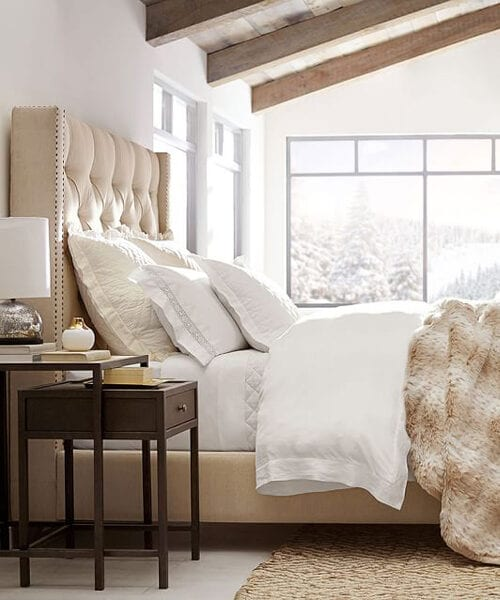 Harper Upholstered Tufted Headboard