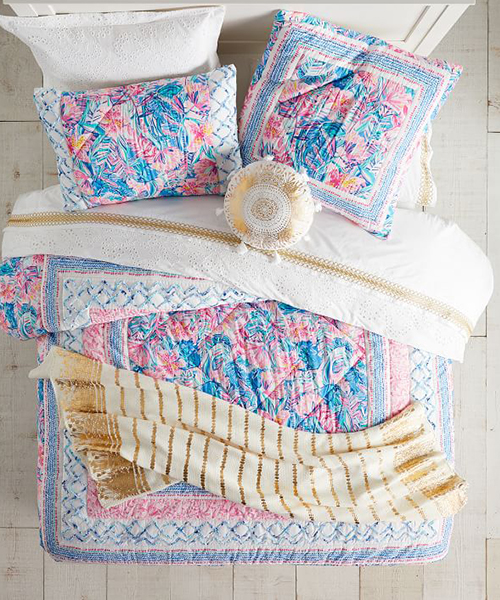 Lily Pulitzer Teen Girls Quilt