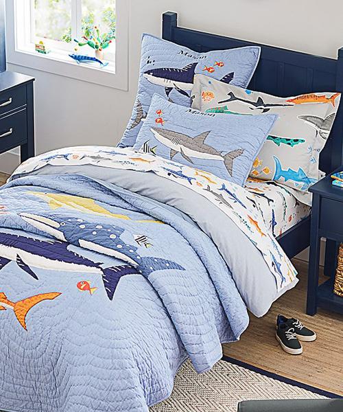 Shark Quilt Set