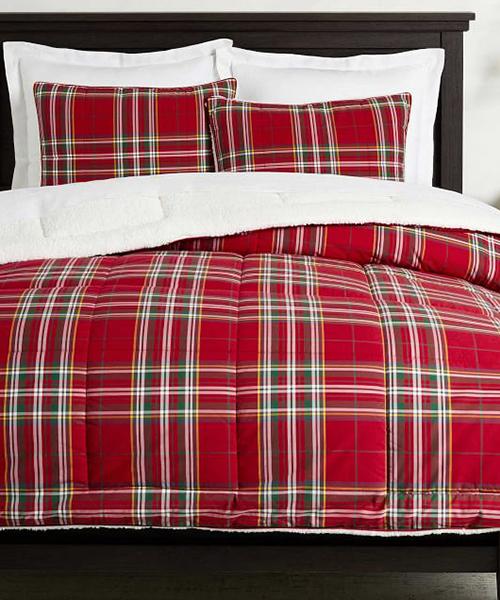 Tartan Holiday Bedding