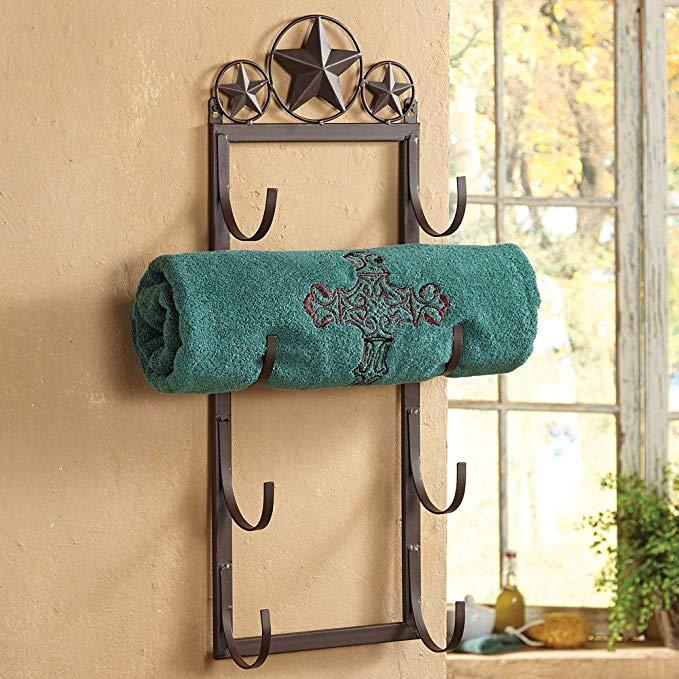 Western Towel Rack