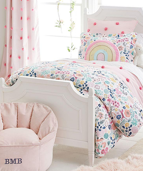 Sasha Girls Garden Duvet Cover