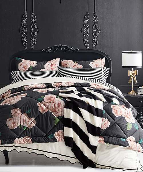 Teen Girl Bedding | Emily & Meritt Bed of Roses Comforter