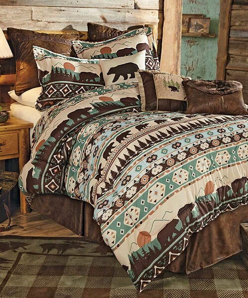 Sierra Mountain Bear Bedding