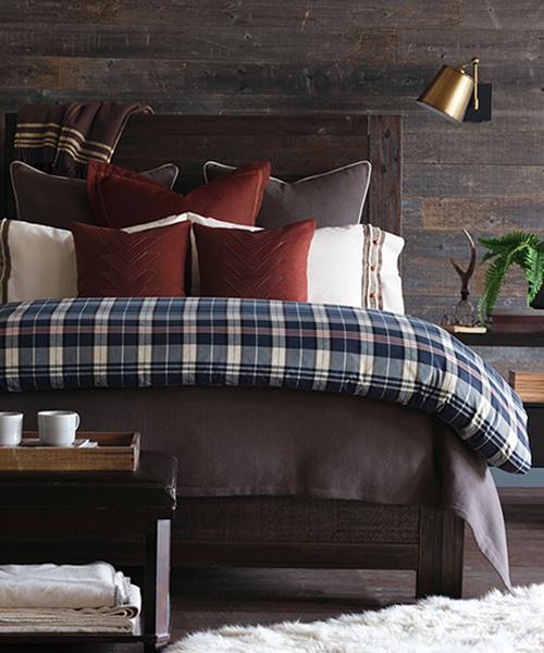 Modern Rustic Bedding