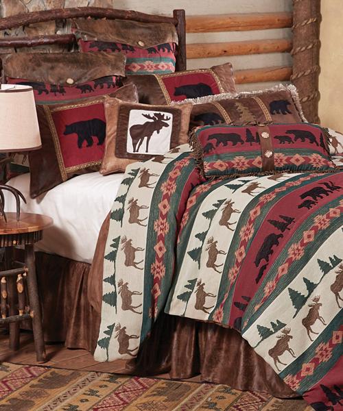 Summit Trail Moose & Bear Bedding