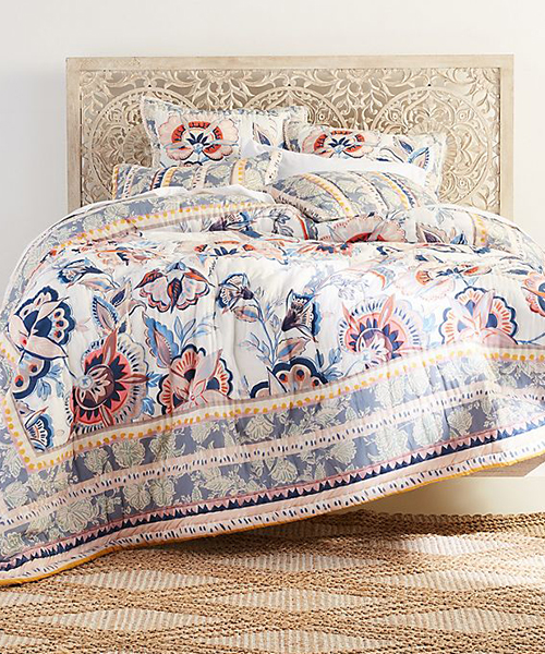 Embroidered Teen Duvet Cover