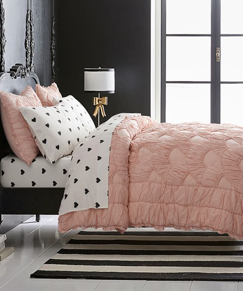 Girls Ruffle Bedding